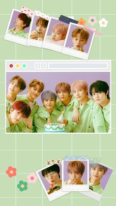 Kawaii Wallpaper, Wallpaper S, Aesthetic Iphone Wallpaper, Aesthetic Wallpapers, Nct Logo, Jisung Nct, Jaehyun Nct, Nct Taeyong, Cool Posters