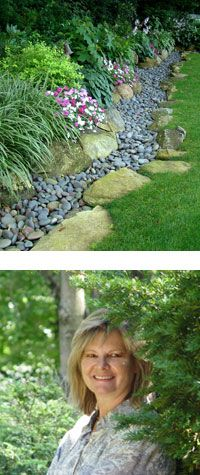 @Tamara Walker Walker Croft ... thought of your back yard make-over .... love the stone edge border here :)