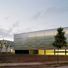 With its ability to improve a building's thermal efficiency and maximise natural light, polycarbonate plastic is becoming increasingly popular in architecture. We've rounded up seven of the best examples. | Municipal Sports Hall by BCQ