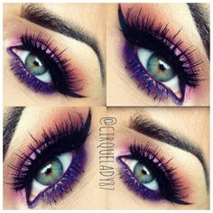 #ShareIG ------------------------------------Noir Fairy @Allison House of Lashes• •Poison Plum - @Sugarpill Cosmetics Cosmetics • Anastasia Purple Mascara @anastasiabeverlyhills • Dark Brown Pomade - @anastasiabeverlyhills -------------------------------------