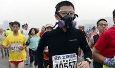 China's former health minister, Chen Zhu, spoke out in January to reveal that between 350,000 and 500,000 people die prematurely each year here as a result of air pollution. October's Beijing marathon saw many competitors drop out because of the pollution levels. - Provided by Guardian News