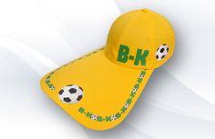 Boné aba de bico de pato B-KO, tecido em brim leve, silkado, regulador plástico, disponível regulador velcro e fivela.