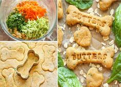 Spinach Carrot Zucchini Dog Treats Will Save You Money | The WHOot