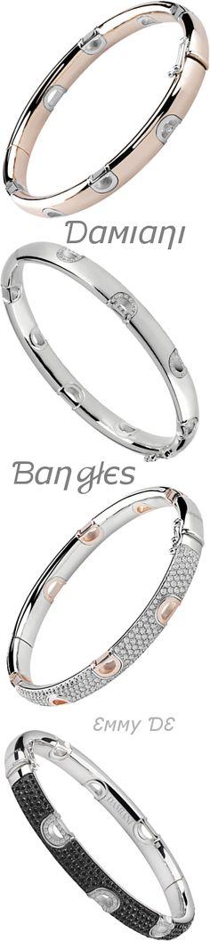 Brilliant Luxury by Emmy DE * Damiani 'Icon' Bangles