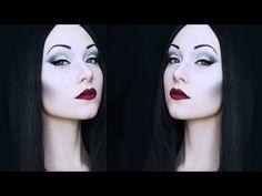 ▶ Morticia Addams Makeup Tutorial - YouTube
