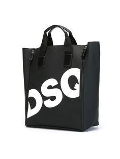 Achetez Dsquared2 sac cabas à logo imprimé en Bonvicini from the world's best independent boutiques at farfetch.com. Shop 300 boutiques at one address.