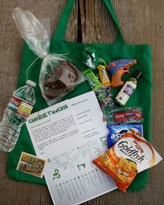definitely plan to make a welcome kit for out-of-town guests with our favorite snacks, a map of the city, etc.