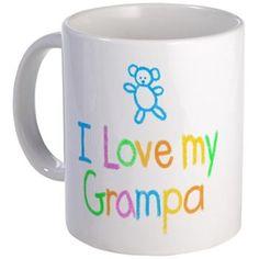 I Love My #Grampa Mug