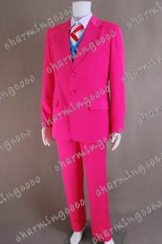 Batman Costumes Villain Red Sweet Tooth Costume Suit Clothing Full Set By Charmingcoco  - Click image twice for more info - See a larger selection of mens halloween costume at http://costumeriver.com/product-category/mens-halloween-costumes/ -  holiday costume , event costume , halloween costume, cosplay costume, classic costume, scary costume, super heroes costume, classic costume, clothing