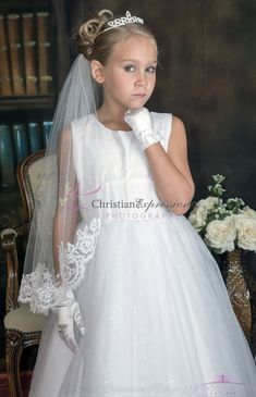 Lace First Communion Veil | Lace First Communion Veils for Sale