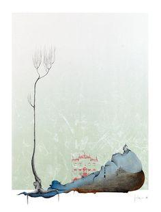 Tecnica mista su cartoncino - Benvenuti su artegambasin.org Surrealism