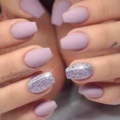 Sweet Glossy Lilac For Short Coffin Nails ❤️ 20 Amazing Short Coffin Nails Designs You Have To Try❤️ See more: naildesignsjourna. Gorgeous Nails, Pretty Nails, Fun Nails, Perfect Nails, Coffin Nails Matte, Acrylic Nails, Coffin Nails Short, Matte Purple Nails, Pink Coffin