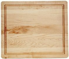 J.K. Adams 14-Inch-by-12-Inch Maple Wood Cutting Board, Square by JK Adams. $37.26. Board contains a channel intended to harness run away juices. Beautiful hardwood maple with a mineral oil finish. Solid maple wood; channel intended to harness run away juices. Manufacturer's 5-year warranty. Hand-wash only, five-year guarantee no questions asked. Handcrafted and finished in Vermont, U.S.A.. 14-Inch-by-12-Inch-by-1-Inch cutting board. Board size is: 14-inch by 12-inch ...