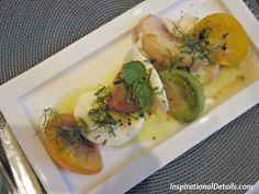Heirloom Tomato & Caramelized Peach Caprese Salad