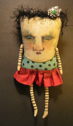 monster art doll | Flickr - Photo Sharing!