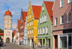 Nördlingen, Germany.