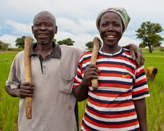 Women farmers produce half of the world's food, yet own just 1% of the land. CARE's climate change strategy focuses on women's empowerment: http://bit.ly/J47VFr