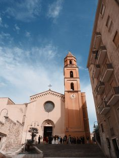 Location for wedding ceremony, Chiesa di Sant'Eulalia, Cagliari Sardinia (Italy)