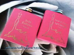 Bridesmaid Gift 4 Personalized  Bridesmaid Flask by AwardSourceLLC, $46.00