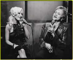 Christina and Etta James
