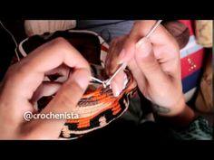 Técnica de fio conduzido - Bolsa Wayuu - YouTube