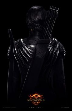 It's officially in! JLaw's #Mockingjay poster has been released! #THG
