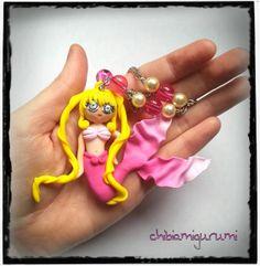 Mermaid Melody Pichi Pichi Pitch necklace / by Chibiamigurumi, €22.95
