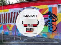 ISOGRAFF is a water-soluble, breathable anti-graffiti sacrificial product used to protect mineral-based surfaces. reducing the absorption of water and dirt, without altering the breathability of this coat. It facilitates the removal of graffiti, simply through cleaning with hot water.  It's a product that helps the culture of writers and graffiti and preserve these works of street art from any subsequent damage.  www.san-marco.com/eng/prodotti/isograff.php