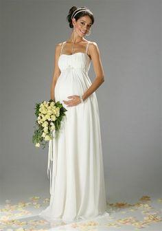 Laura Scott Wedding Brautkleid, für Schwangere