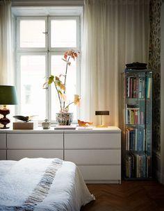hemma hos cilla ramnek sovrum malm otto malmscandinavian interiorbedroom decorbedroom