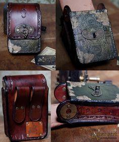 Steampunk Belt Bag by Aetherwerk on DeviantArt