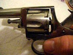 ANTIQUE Belgian Bulldog 380 revolver Pre 1897 1898 Antique