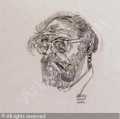 BRATBY John Randall - Self-portrait