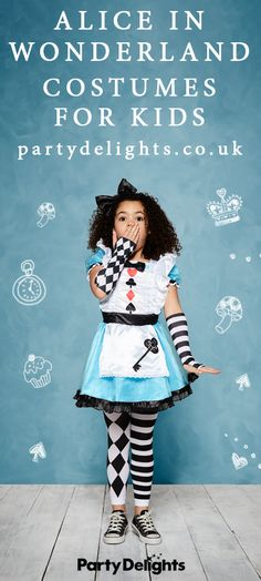 Looking for World Book Day costume ideas for kids? Check out our huge range of Alice in Wonderland costumes for kids at partydelights.co.uk. We've got every Alice in Wonderland character including Alice, the Queen of Hearts, the White Rabbit and the Cheshire Cat!