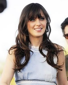 Zooey always looks beautiful