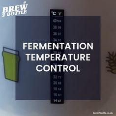 Good temperature control is important for beer quality and timely fermentation. A heat pad or brew belt may be useful in keeping the beer at an appropriate temperature (particularly during the cooler months). Home Brewing, Cheers, Belt, Bottle, Happy, Tips, Belts, Flask, Ser Feliz