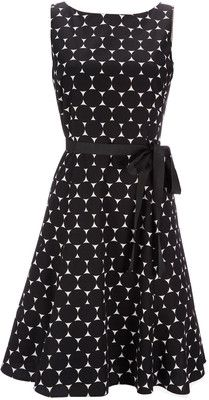 Petite Black And White Polka Dot Dress - Wallis - Polyvore
