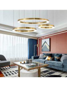 simiglighting.pl|SELLECA Ring LED Pendant Light Circular Chandelier, Chandelier Lamp, Modern Chandelier, Led Pendant Lights, Pendant Lamps, Modern Luxury, Ceiling Lights, Living Room, Better Life