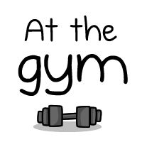 At the gym: who is looking at whom - The Oatmeal  Funny comic strip...just be happy with you!
