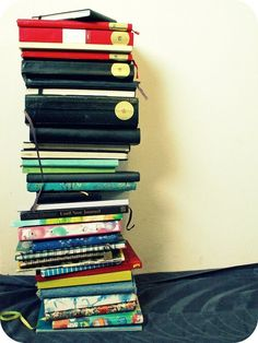 Stack of journals