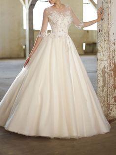 weiß / Elfenbein KurzHülse Brautkleid Custom | eBay