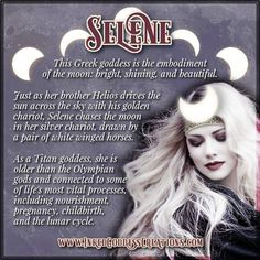February is the Day of Selene! Th… - moon photography Wiccan Witch, Wicca Witchcraft, Magick, Selene Greek Mythology, Greek Gods And Goddesses, Divine Goddess, Moon Goddess, Artemis Goddess, Ancient Greek Religion