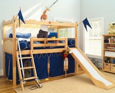 11 Stunning Bunk Beds With Slides Image Ideas