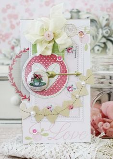 Saturday's Inspiration: Valentine's Day projects, a lovely wedding layout, and a yummy treat!