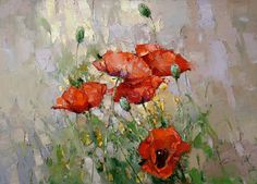 Poppies #1 - Alexi Zaitsev - Sale of paintings and other art works