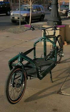 Primarily work bike, but occasionally grocery/errand/park day bike. Bullitt Cargo Bike, Velo Cargo, Bike Trailer, Bike Pedals, Commute To Work, Fixed Bike, Commuter Bike, Touring Bike, Mini Bike