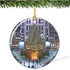 Relive your amazing time in New York City at Christmas with a Rockefeller Center Porcelain Christmas Ornament for a lifetime. (http://www.nycwebstore.com/rockefeller-center-porcelain-christmas-ornament/)