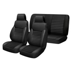 Image may not reflect your exact vehicle! Bestop® - 1st Row Black Diamond Seat Covers