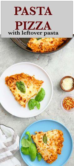 Pasta Dinner Recipes, Instant Pot Dinner Recipes, Vegetarian Recipes Dinner, Pasta Salad Recipes, Pizza Recipes, Easy Skillet Meals, Skillet Recipes, Easy Meals, Pasta Ideas
