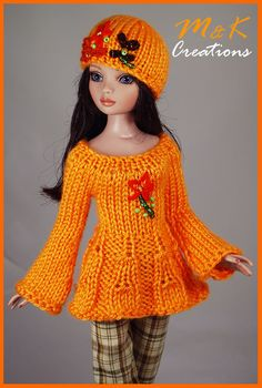Barbie Clothes Patterns, Crochet Barbie Clothes, Doll Clothes Barbie, Barbie Dress, Clothing Patterns, Barbie Doll, Crochet Barbie Patterns, Crochet Doll Dress, Knitted Dolls